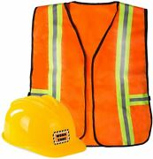 Funny Party Hats Construction Worker Costume For Kids - Construction Costume -