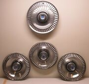 1964 Ford Galaxie Set Of Hubcaps Custom Vintage Classic Streetrod Lot165