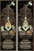 The Nightmare Before Christmas By G Erwin - Set Of 2 Signed Ap Prints - Mondo