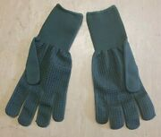 British Army Issue Olive Green Aramid Contact Combat Gloves Size 8 X5 Pairs