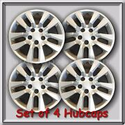 2016-2017 16 Silver Nissan Altima Hubcaps Fits Hub Caps, Altima Wheel Covers