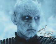 Richard Brake Photo Signed In Person - Night King In Game Of Thrones - H388