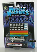 Limited Race Version 1966 Ford Mustang 66 Hot Rod Pony Car Muscle Machines 164s