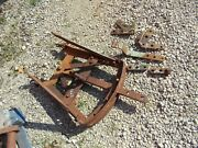 Oliver Super 77 Diesel Tractor Original Drawbar Hitch Assembly And Brackets