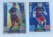 Lionel Messi, Topps Match Attax, Club 100 And Team Mate Card 498, 251