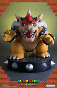 First4figures Supermario Bowser Regular Edition Statue Mint In Box