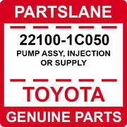 22100-1c050 Toyota Oem Genuine Pump Assy Injection Or Supply