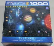 The Planets Jigsaw Puzzle Space Astrology 1000 Piece Eurographics Usa