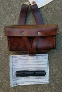 Documented Viet Cong Sks Ammo Pouch North Vietnamese Army Arvn Sog Tiger Stripe