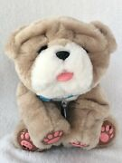 Little Live Pets My Kissing Puppy Rollie Plush Toy Bulldog Interactive - Works