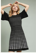 Anthropologie Patterned Sweater Dress Size Xs Brand New