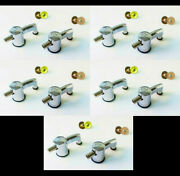 Set Of 10 New Sonor Bass Drum Lugs Force/ascent/essential/select/sse/smart/18