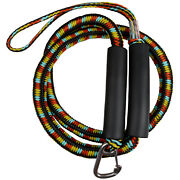 Bungee Docking Line 5and039 Stretches To 7.5and039 Marine Mooring Rope 4000lbs With Clip