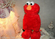 2005 Fisher-price Sesame Street 1st Tickle Me Elmo Tmx Pre Owned And Mint W/box