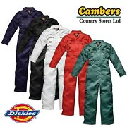 New Quality Zip Front Boilersuit Overalls Coverall Size And Colour Choice