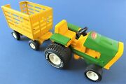 1970's Tonka 995 Tractor And Stake Truck. Mint With Box.