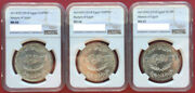 Egypt Martyrs Full Set 20 50 And 100 Pounds 2018 Ngc 66-67 All Top Pops Rare