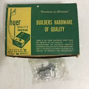 Vintage Hyer Power Magnetic Catch Drawer Cabinet 20 Pcs In Original Box Nos