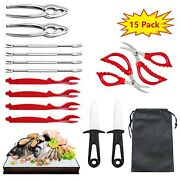 Seafood Tools Setcrab Lobster Crackers And Picks Setcrab Leg Crackers And T...