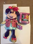 Lot 3 Disney Minnie Mouse Main Attraction Mad Hatter Mug And Plush And Ear Headband