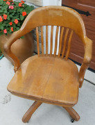 Lawyer/banker Wooden Office Chair