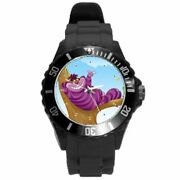 The Cheshire Cat Anime Art Rubber Plastic Color Watch