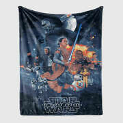 Brave And Witty Heroic Battle 3d Warm Plush Fleece Blanket Picnic Sofa Couch