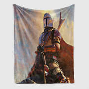 Glorious Image Of Brave Soldiers 3d Warm Plush Fleece Blanket Picnic Sofa Couch