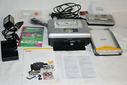 Kodak Easyshare Accessories Lot Printer Dock Series 3 Chargers Manuals Battery +