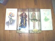 Lot 3 Tinker Bell And Zarina And Fawn Disney Limited Edition Fairies Designer Dolls