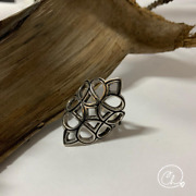 925 Sterling Silver Oxidize Ring Handmade Jewelry For Women From Mexico