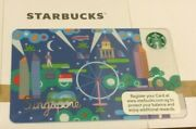 Starbucks Singapore Gift Card 2013 Used Once Pin Intact Original Receipt