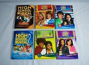 Disney High School Musical Lot Of 6 Books Stories From East High Musical 2