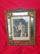 Antique 19c Handcolored Engraving Napoleon Le Grand Baroque Frame By Desnoyers