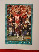 Vintage Jerry Rice Sports Illustrated For Kids Poster 16x11 San Francisco 49ers