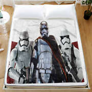 Three Brave Invincible Soldiers 3d Warm Plush Fleece Blanket Picnic Sofa Couch