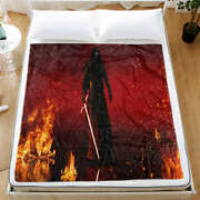Brave Heroes In Battle Victory 3d Warm Plush Fleece Blanket Picnic Sofa Couch