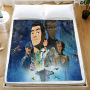 Brave And Good At Fighting Hero 3d Warm Plush Fleece Blanket Picnic Sofa Couch