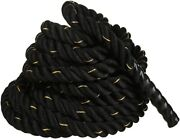 Workout Strength Battle Exercise Training Rope1.5/2in Diameter 30/40/50ft Length