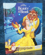 Disney Beauty And The Beast 12 Figurines A Playmat English Books For Kids