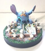 Disney Parks Lilo And Stitch W/ Ducks Stitch Reading To Ducklings 2018 Sold Out
