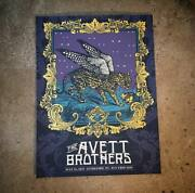 The Avett Brothers 7/21/2018 Poster Kingsport Fun Fest Tn Signed And Numbered 200