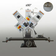 Wmd-25v 7x27 1hp Mill/drill Precisionmilling And Drilling Machine 110v