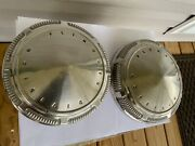 2 Vintage Plymouth Dodge Chrysler Dog Dish Hubcaps Wheel Covers Gtx Road Runner