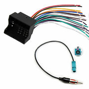 Car Radio Wire Harness Plug Antenna Adapter Connector For Vw For Bmw For Mini