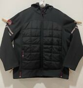 Euc Menand039s Canada Weathergear Hooded Coat Size 2xl Full Zip Front And Pockets Black