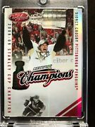 2010/11 Certified Champions Sidney Crosby 87/250 Stanley Cup Champion 2008/09
