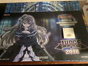 Yugioh Judge Playmat 2018 Ghost Belle And Haunted Mansion - Extremely Rare - Legit