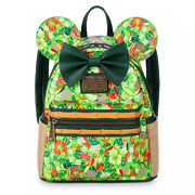 Disney Minnie Mouse The Main Attraction Enchanted Tiki Room Loungefly Backpack