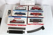 Walthers Trainline Deluxe Ho Train Set Ready-to-run Freight Car - Set Of 6